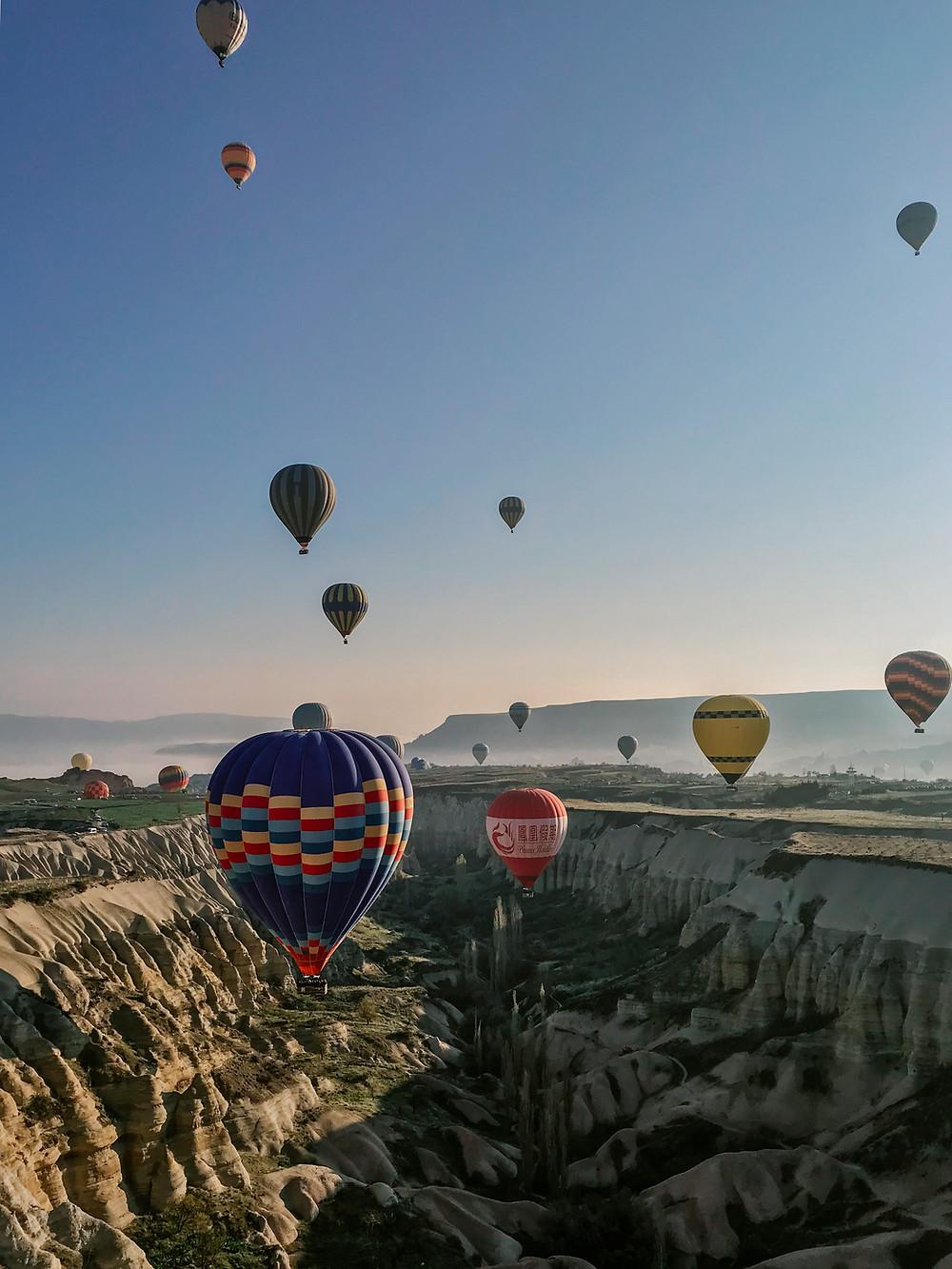 cappadocia hot air balloon what to wear