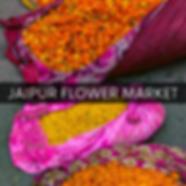 where is the jaipur flower market