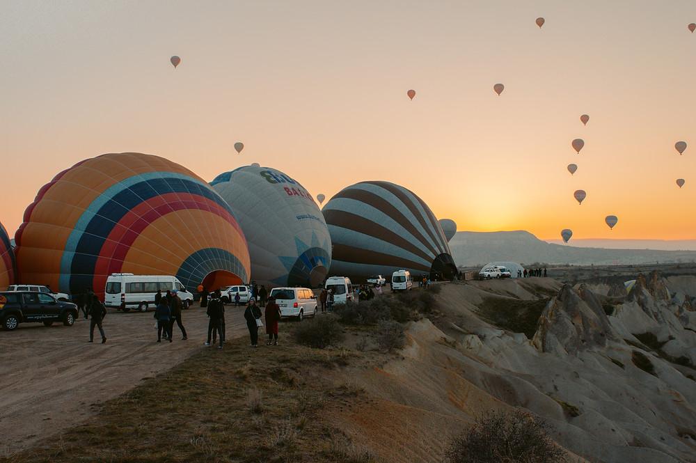 which company to book a hot air balloon ride cappadocia