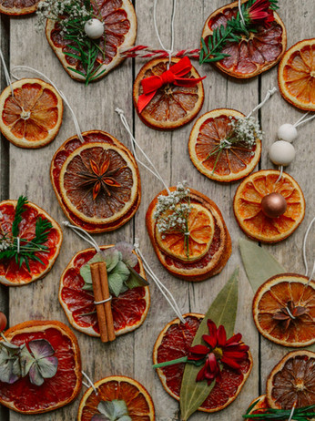 How To Make Dried Orange Christmas Decorations