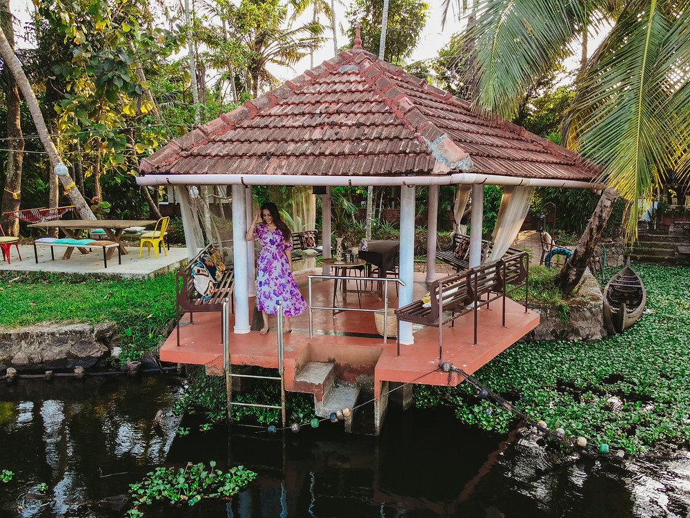 airbnb in alleppey alappuzha, kerala backwaters accommodation, where to stay in kerala, kerala india travel photos