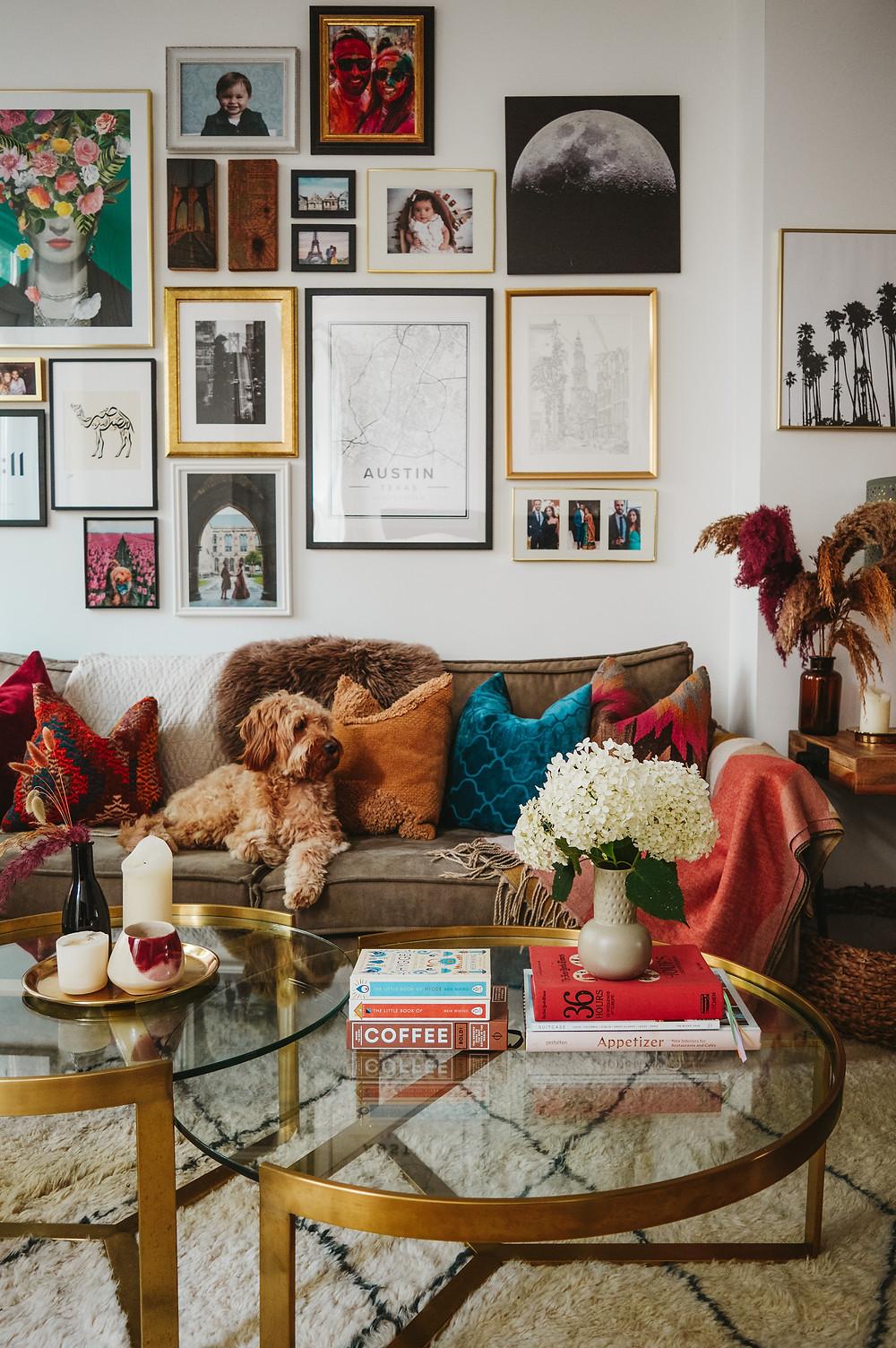living room ideas wall gallery