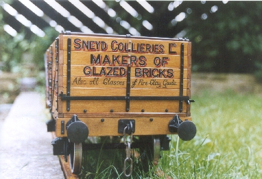 Sneyd Collieries wagon