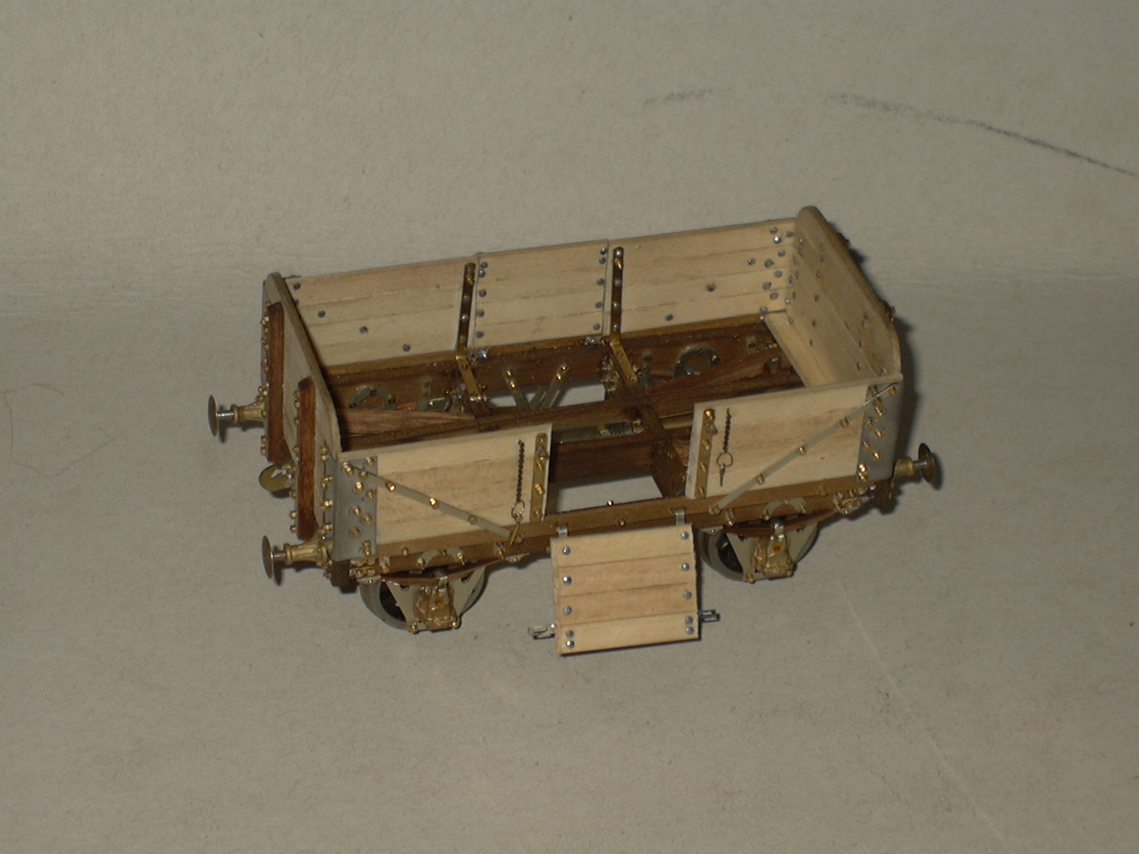 7mm scratchbuilt wagon
