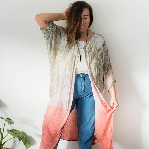 Rainbow Duster Kimono