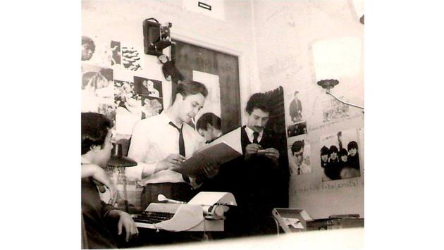 Redacción Revista  La Mano en el cuarto  de Pipo - 1966