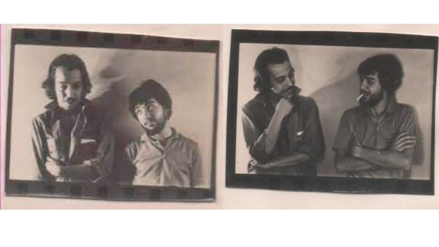 Miguel Abuelo y Pipo: Foto de prensa Abuelos de la Nada 1968