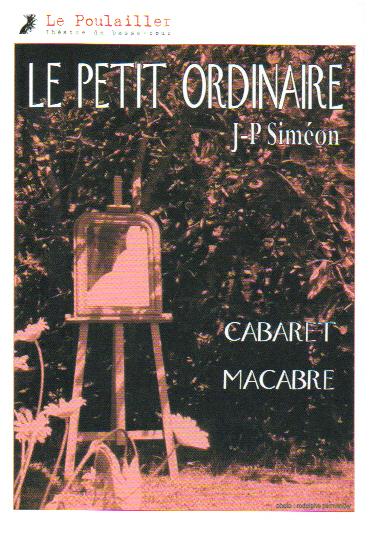 Affiche Petit Ordinaire
