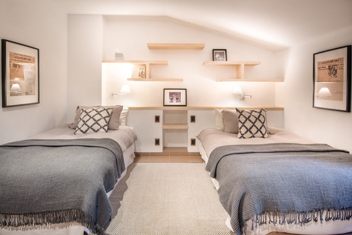 Coppi Twin Bedroom