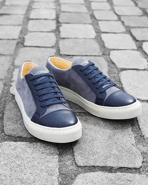 cuir leather luhmen luxe luxury sneakers shoes france paris