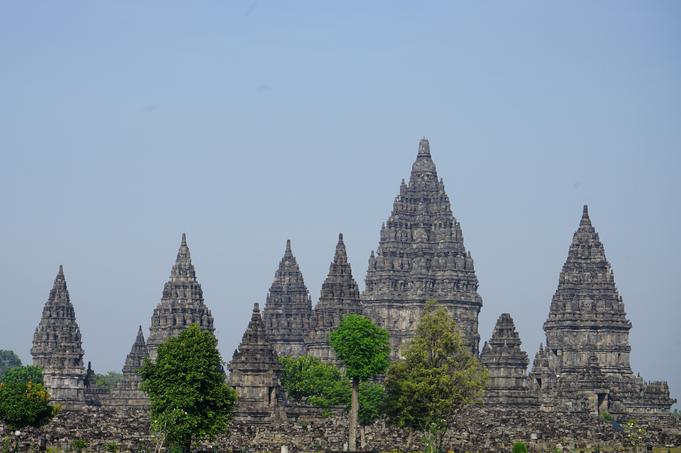 Auf zum nächsten Tempel - Prambanan