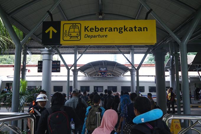 Auf den Schienen nach Yogyakarta