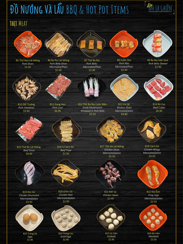 2a. BBQ Items Meat