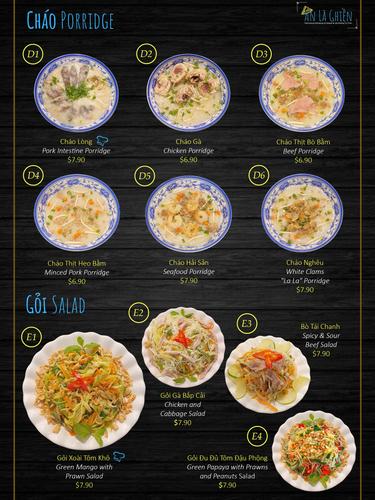 Porridge & Salad