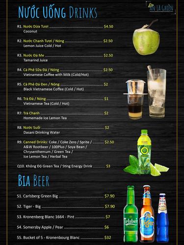 Drinks & Beer