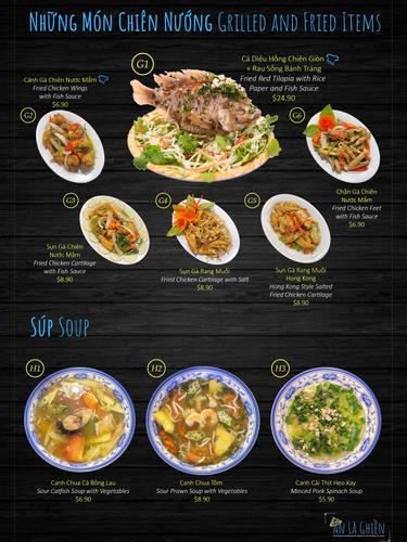 Fried Items & Soup