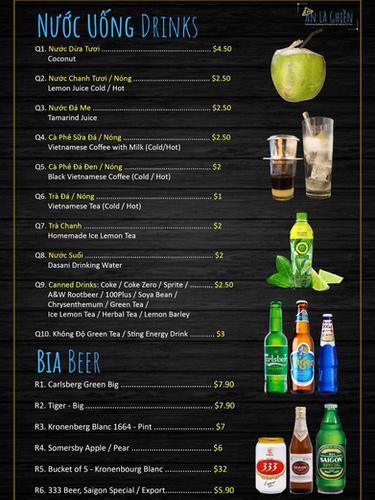 12. Drinks