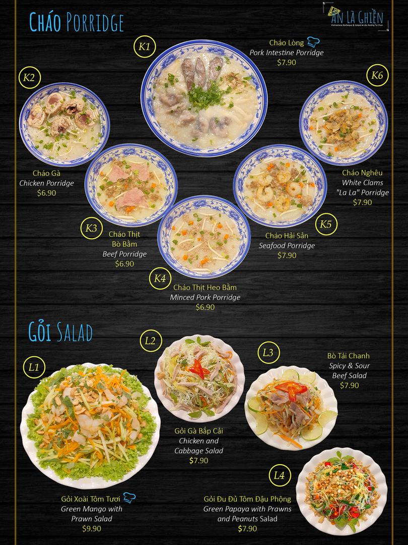 8. Porridge Salad