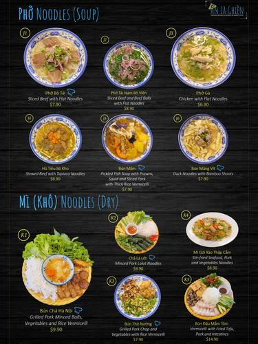Pho Noodles Soup & Dry