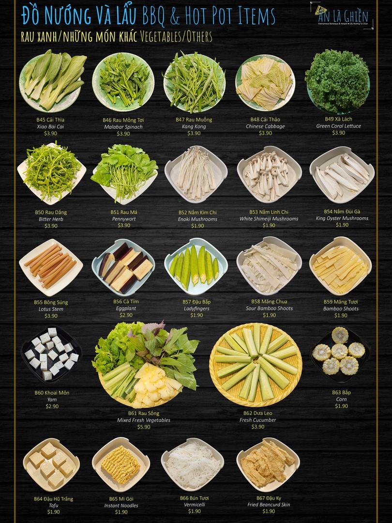 2c. BBQ Items Vegetables