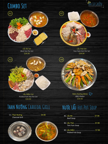 Combo Sets Hot Pot Charcoal Grill
