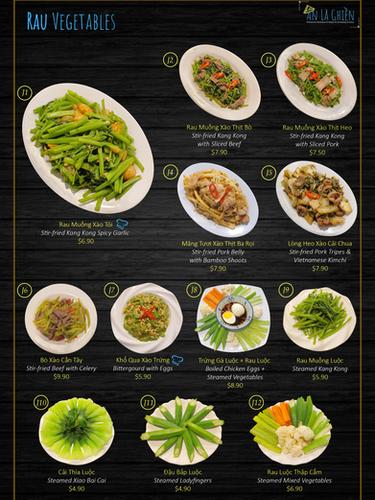 7. Vegetables