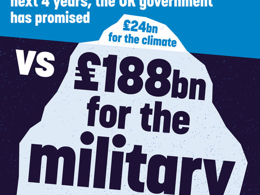 Military victory over climate change