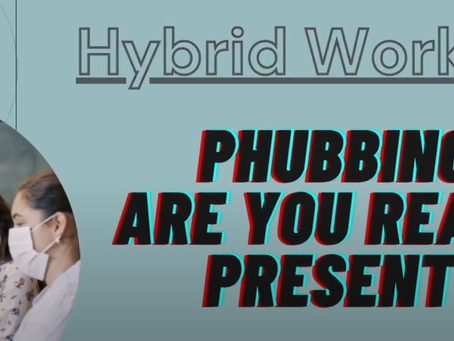 GBWWA Roundtable 2 - Phubbing: Are you really present?