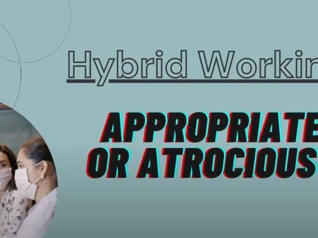 GBWWA Roundtable 1 - Hybrid working – Appropriate or atrocious?