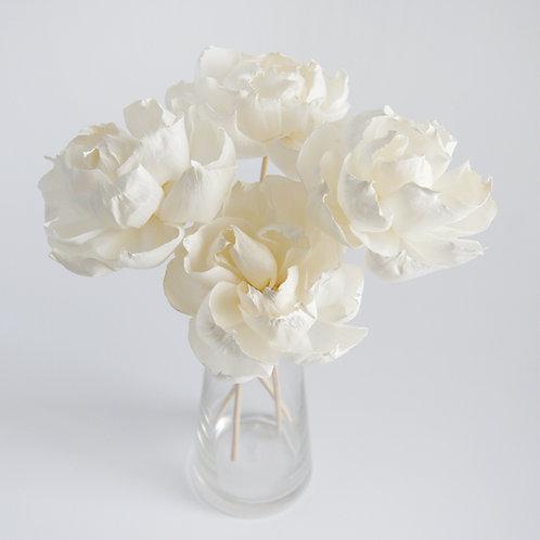 """Set of 4 DIY  3""""   Dahlia Sola Flower for Home fragranc"""