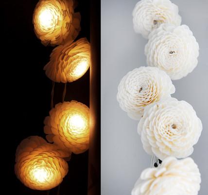 Jasmine sola string light