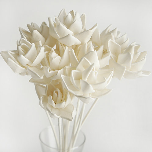 Set of 10 Blooming Lotus Flower for Home fragrance Diffuser.