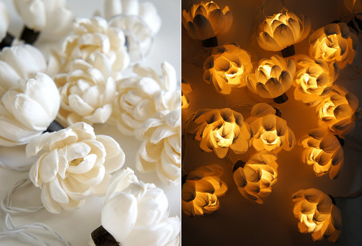 Magnolia string light