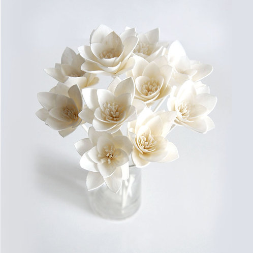 Set of 10 Lily Sola Flower for Home fragrance Diffuser.