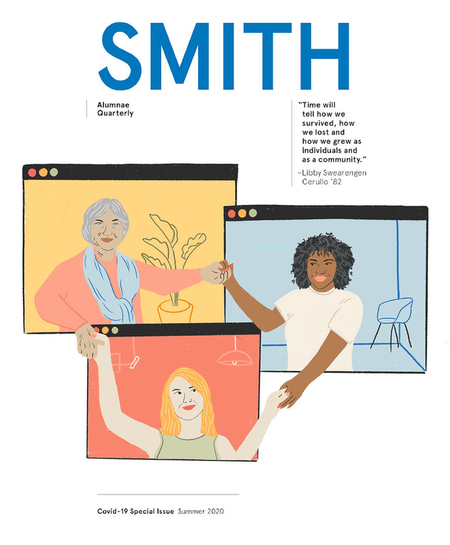 Smith Alumnae Quarterly COVER - community