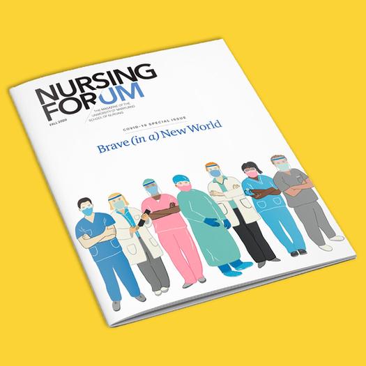 Nursing Forum / whole illustrated magazine