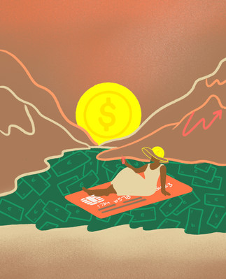 Freundin Magazine COVER - How to get money?