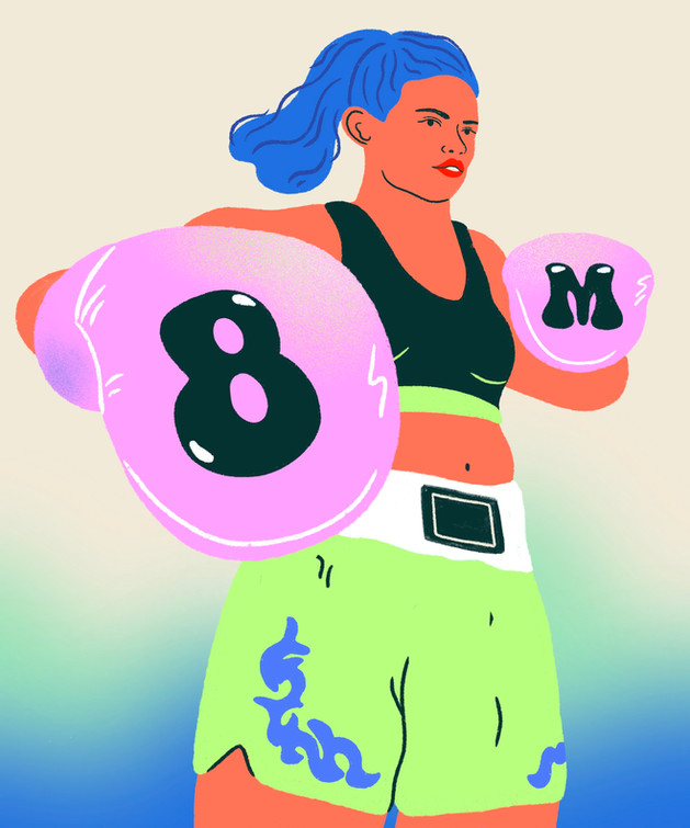 Knock Out The Patriarchy - International Women's Day 2021