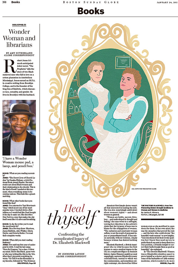 sol cotti-Boston Globe cover-Doctors Bla