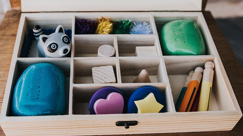 little creators (UNDER 2) playdough kit