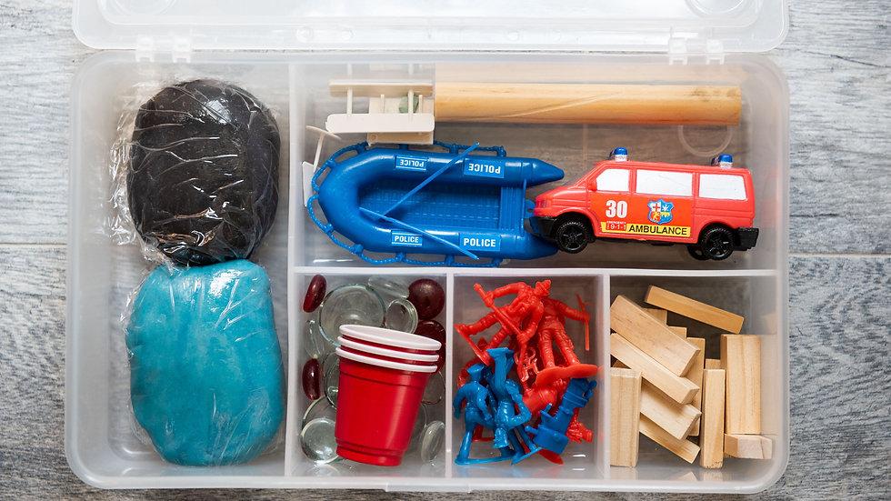emergency vehicle create kit