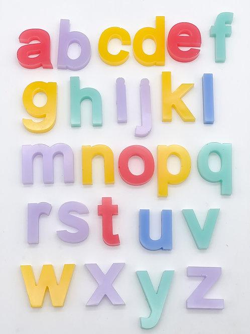 Rainbow Lowercase Letter Set
