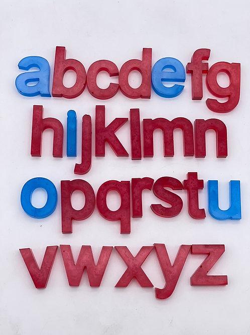 Montessori Resin Letter Set