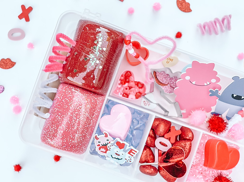 Valentines Playdough Kit