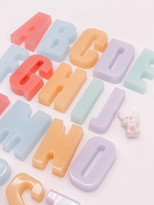 Rainbow Chunky Letter Full Set