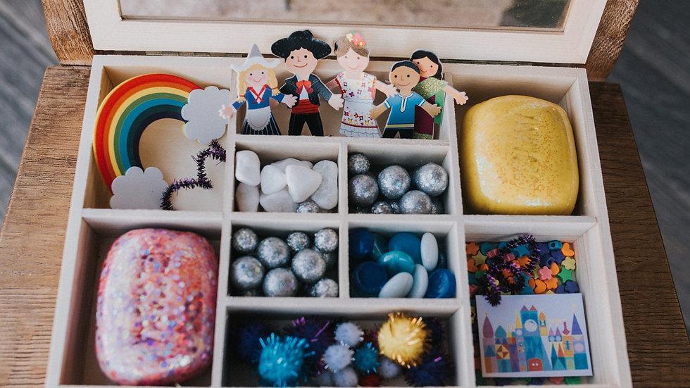 It's a small world playdough kit