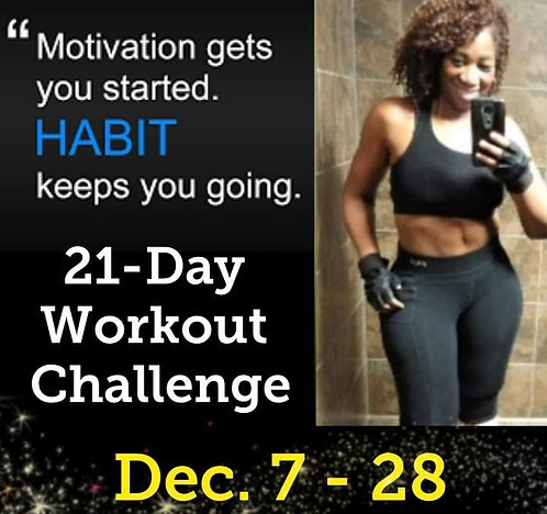 21-Day Workout Challenge!