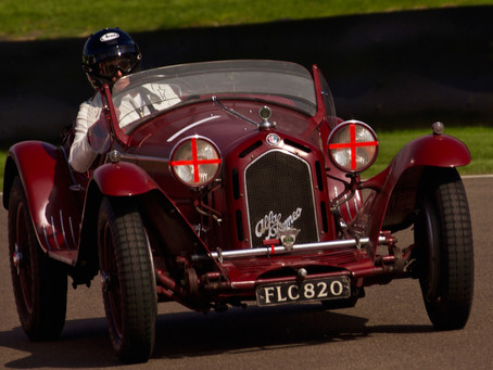 The Goodwood Revival - Cars!