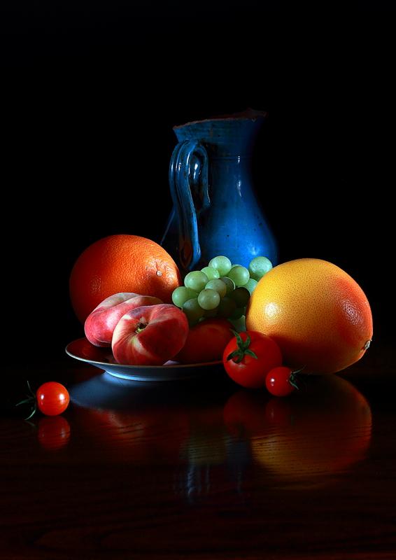 IMG_3117 Fruits au pichet bleu