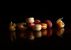 Physalis et macarons N°967